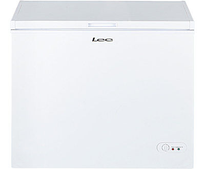 Lec CF200LW Free Standing 197 Litres A+ Chest Freezer White New