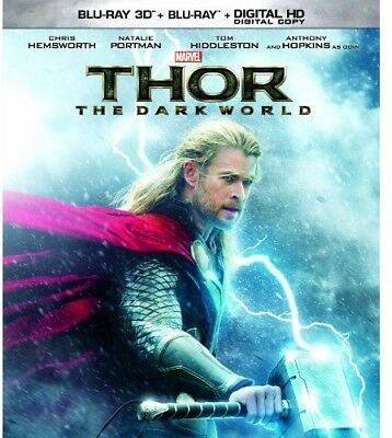 Thor: The Dark World [New Blu-ray 3D] With Blu-Ray, 2 Pack, Ac-3/Dolby Digital