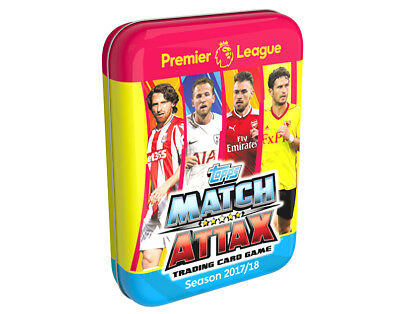 Topps MATCH ATTAX EPL 2016 2017 Collector Tin 35 Cards + Limited Edition Card