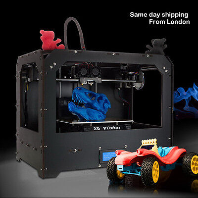 CTC 3D Printer - Dual Extruder - MK8 - Factory Direct Lowest Price- ABS  PLA