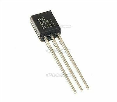 20Pcs 20X 2N5551 160 Volts 600 Ma Npn Package To-92 Transistor Develope Ic New N