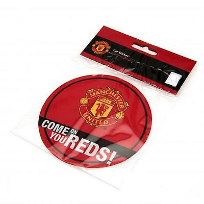 Manchester United F.C. Window Sticker RD OFFICIAL LICENSED PRODUCT