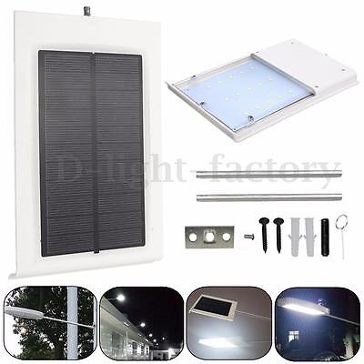 15 LED Solar Powered Outdoor Waterproof Wall Lamp Motion Sensor Security Light
