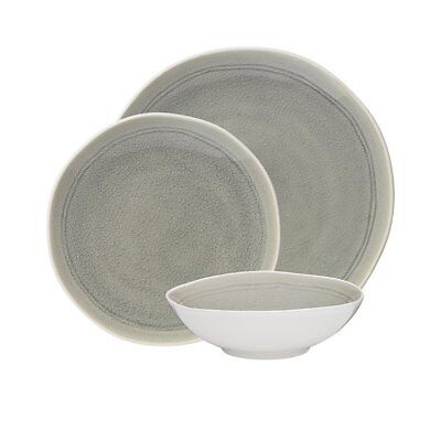 NEW Ecology Linea Mineral Dinner Set 12pc (RRP $150)