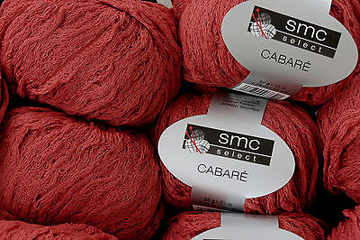 650 g CABARE smc select Schachenmayr WOLLE  Fb. 04222 Ziegel Rot Jacke Pulli