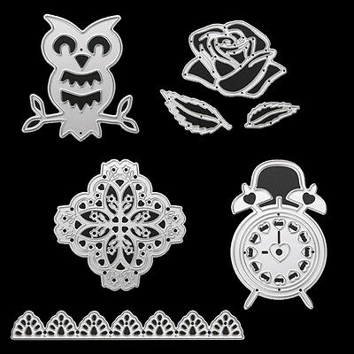 DIY Scrapbook Metal Cutting Dies Stencils Album Paper Diary Card Hand Craft Tool