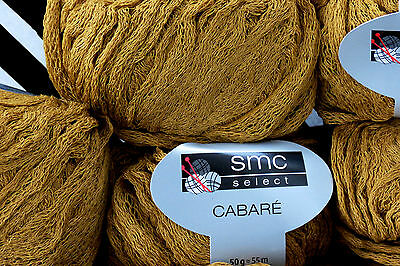 650 g CABARE smc select Schachenmayr WOLLE  Fb. 04224 Messing Gold Gelb Pulli