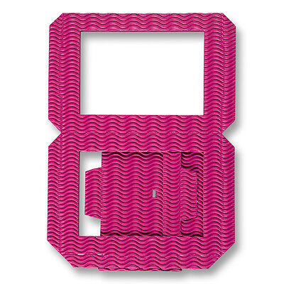 Laternenrohling aus 3D-Welle, Pink