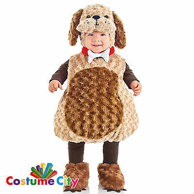 Childs Toddlers Cute Puppy Dog Pet Animal Halloween Fancy Dress Party Costume