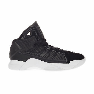 Nike Men's Hyperdunk Lux High Top Active Running Gym Black / White Trainers