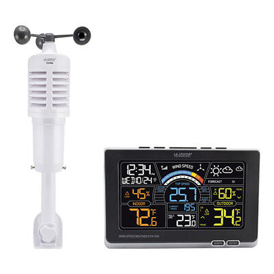 La Crosse 327-1414W 3-in-1 Professional Wind Speed Wireless Weather Station