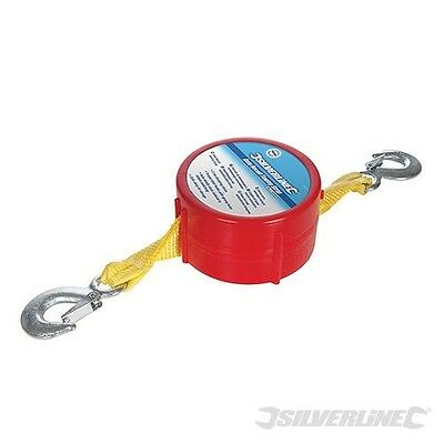 Silverline Auto Recoil Towing Strap - Tracked Delivery