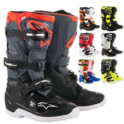Alpinestars Racing Tech 7S Youth Kids Off Road Dirt Bike Junior Motocross Boots