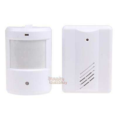 P4PM Wireless IR Infrared Monitor Sensor Motion Detector Entry Door Bell Alarm