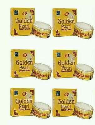 6X 100% Origional Golden Pearl Whitening Beauty Cream Free Uk Delivery