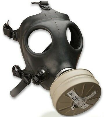 Genuine Israeli Gas Mask - Adult Sized with 40mm NBC Filter