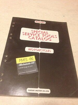 Suzuki special tool list liste outillage 1978 GT TS RV TC JR B DS RM SP GS ..etc