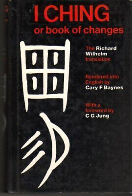 I Ching or Book of Changes Hardback Book The Cheap Fast Free Post