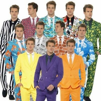Stand Out Suits Mens Comedy Stag Party Funny Fancy Dress Costume Outfit New