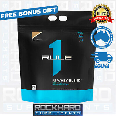 Rule One Proteins R1 Blend Protein Powder + Free R1 Creatine Strength Gainer