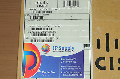 *BRAND NEW* CISCO871-K9 4-Port WAN LAN Intergrated Services Router 6MthWtyTaxInv