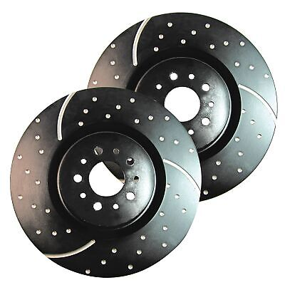 EBC GD Sport Rotors / Turbo Grooved Upgraded Rear Brake Discs (Pair) - GD890