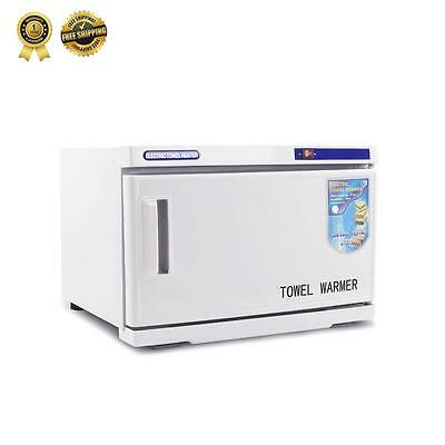 UV TOWEL STERILIZER Warmer Cabinet Disinfection Heater Hot Hotel Salon Spa 16L