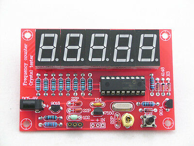 1HZ-50MHz DDS Crystal Oscillator Frequency Counter Meter Digital LED Kit AU