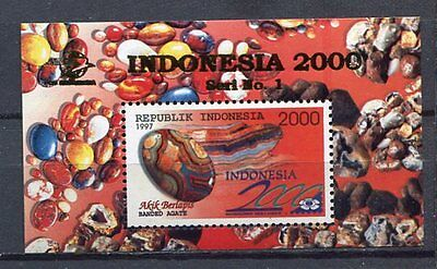 38384) INDONESIA 1997 MNH** Minerals s/s