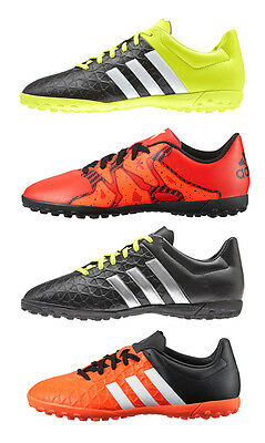 Adidas Kids Boys Junior X 15.4 Ace Football Astro Turf Boots Trainers Size 13-6