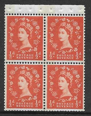 SB19a Wilding booklet pane Blue Phos White perf type I UNMOUNTED MNT/MNH
