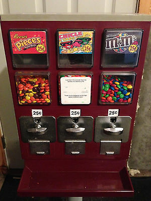 EVERVEND BULK CANDY GUMBALL VENDING MACHINE USPS Puerto Rico