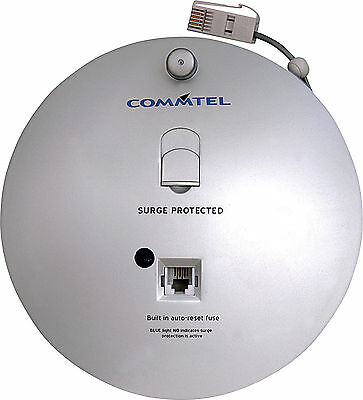 Commtel 10m Telephone/Modem Reel with Surge Protection