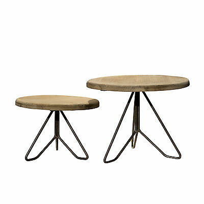 American Mercantile 2 Piece Plant Stand Set