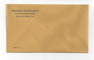 1955 Philadelphia Proof Set Envelope Only!!!! Empty No Coins!! No Coa Or Cards!