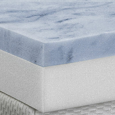 "Serenia Sleep 4"" Gel Memory Foam 2 Layer Topper"