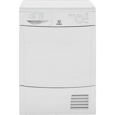Indesit IDC8T3B 8Kg Condenser Tumble Dryer White New from AO