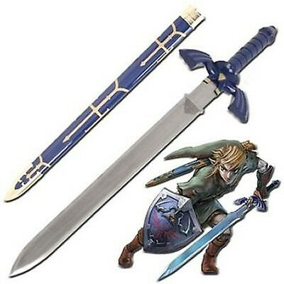 Legend Of Zelda Twilight Princess ocarina of time Link's master sword Sharp 42""