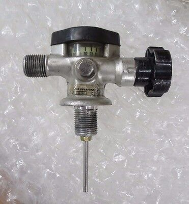 Survivair 920312 4,500 psi High Pressure Composite Air Tank SCBA Valve Regulator