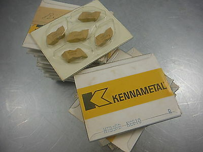 New Kennametal NTB3RB KC810 Carbide - 10 inserts - Buttress thread