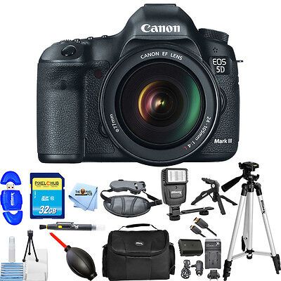 Canon EOS 5D Mark III DSLR Camera with 24-105mm Lens (Black)!! PRO BUNDLE!!