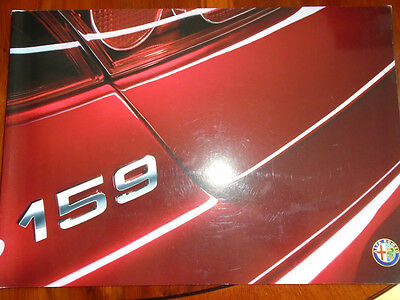 Alfa Romeo 159 brochure Sep 2009
