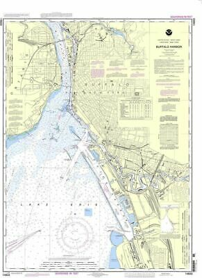 NOAA Nautical Chart 14833: Buffalo Harbor
