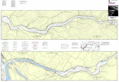 NOAA Nautical Chart 18545: Lake Sacajawea