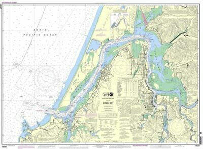 NOAA Nautical Chart 18587: Coos Bay