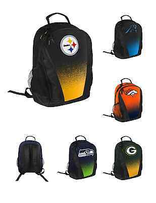 09adbb9e61 NFL Football Team Logo Gradient Primetime Backpack w/ Laptop Sleeve - Pick  Team!