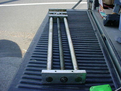 "Lead screw and carriage assembly 34"" travel"