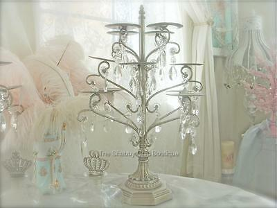 French Provincial Silver Candelabra Decoration Wedding Cupcake Display Stand New