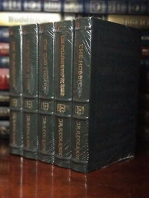 Easton Press Hobbit, Lord Of The Rings Silmarillion TOLKIEN Gift Leather Sealed