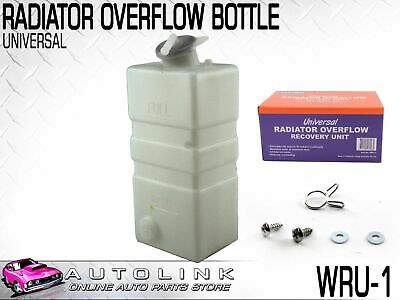 Universal Radiator Overflow Bottle Suits 13-16 Psi Radiators Includes Bracket